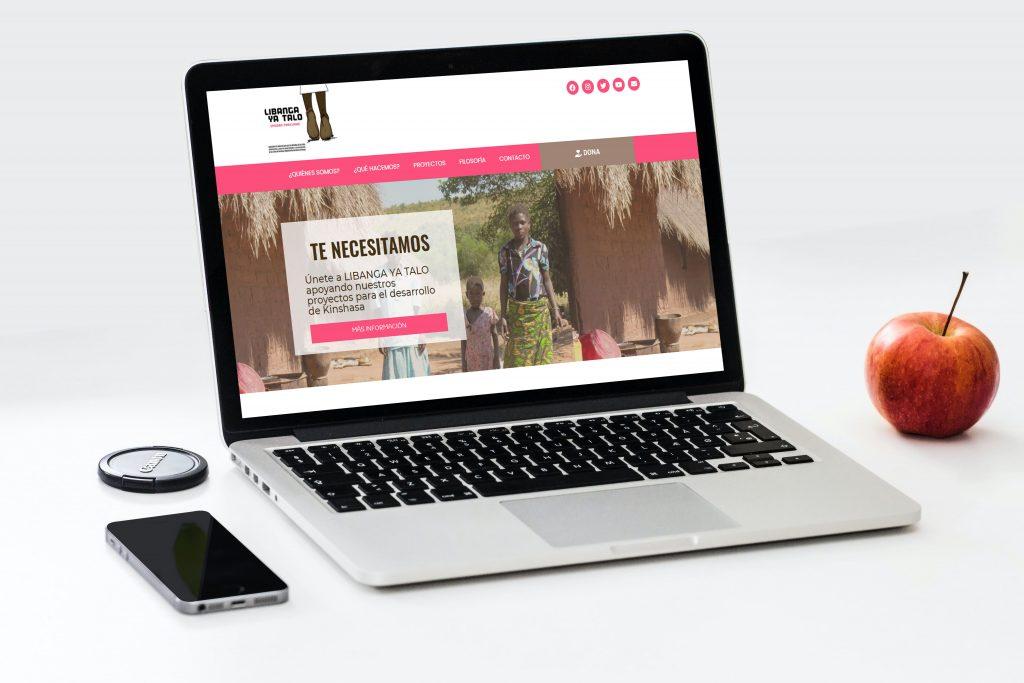 Libanga Ya Talo - Pagina Web desarrollada por Soporte Website - Diseño y desarrollo web - Portfolio de Soporte website